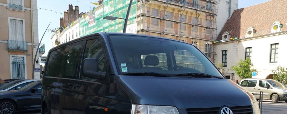 Basisfahrzeug - Detektei nutzt Observationsbus