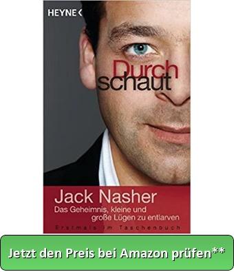 Buchvorstellung Jack Nasher - Durchschaut - Jetzt den Preis bei Amazon prüfen**